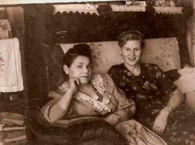 Елизавета Константиновна Черногубова и Галина Андреевна Рыжова
