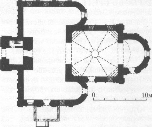 План Богоявленского храма