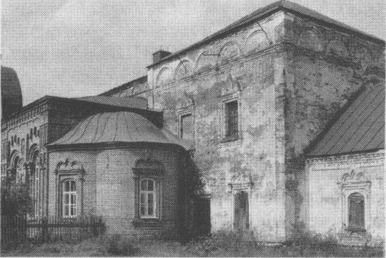 Церковь Воскресения. Фот. 1986 г.