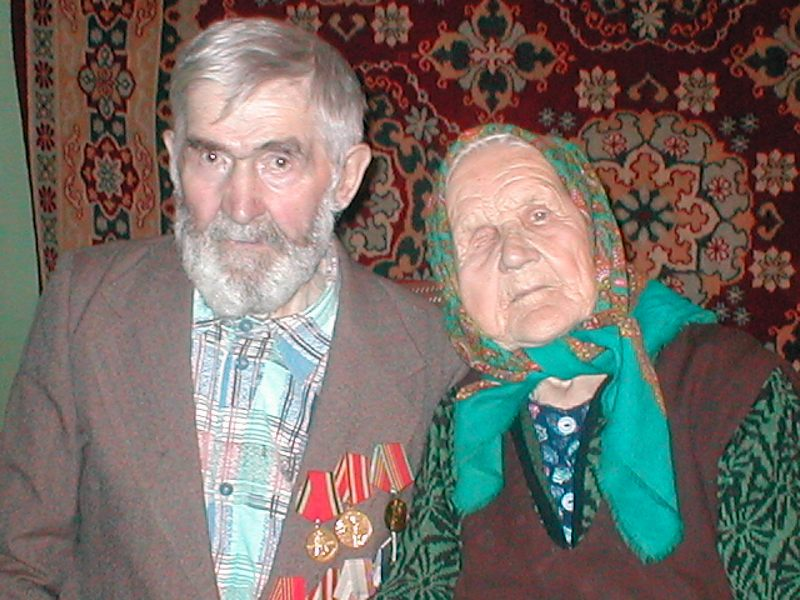 Николай Матвеевич и Варвара Константиновна Савины
