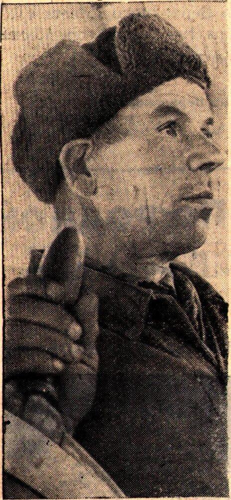 Рулевой-моторист М.Г.Белов