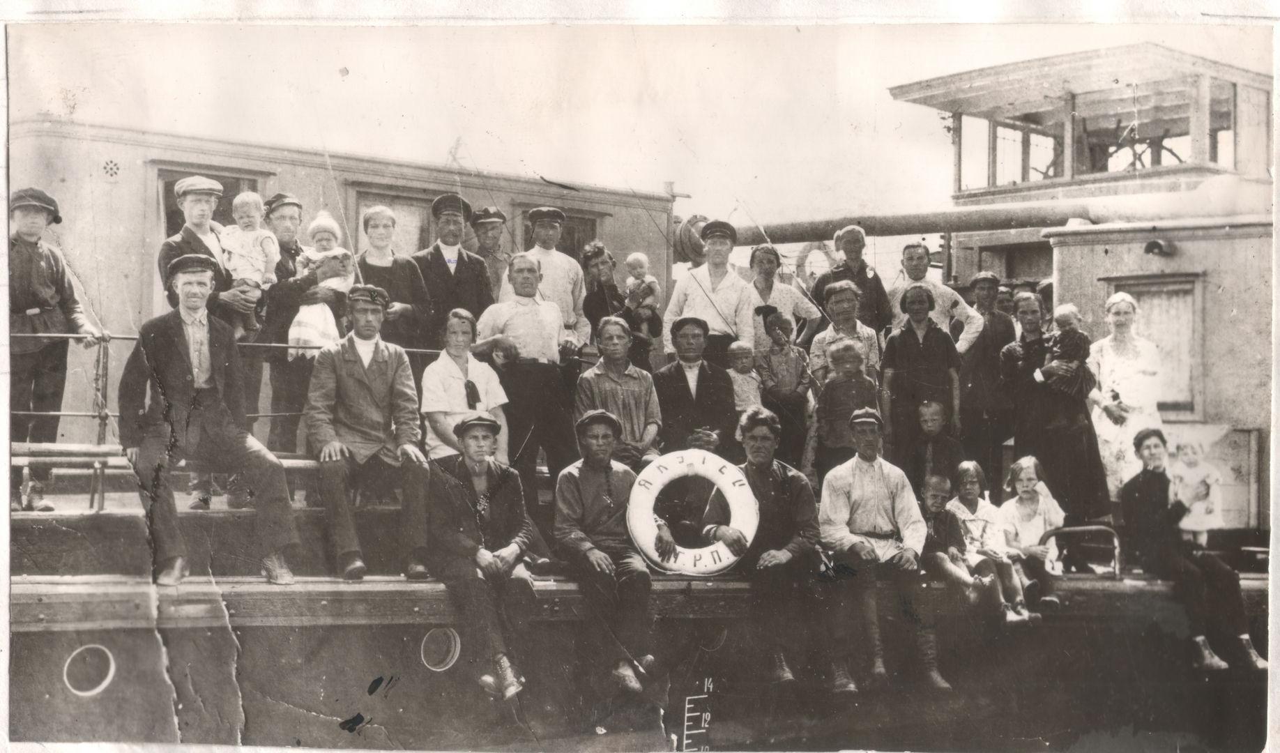 якутец, пароход, 1930
