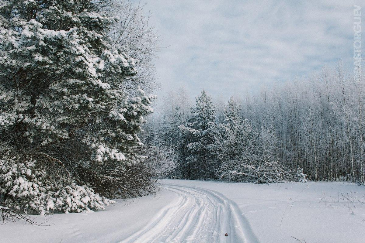 Дорога в сказку, Юрьевец, зима