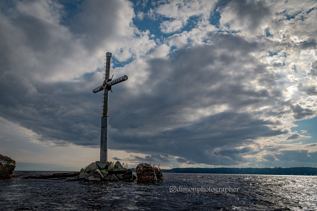 Крест на Волге Юрьевец
